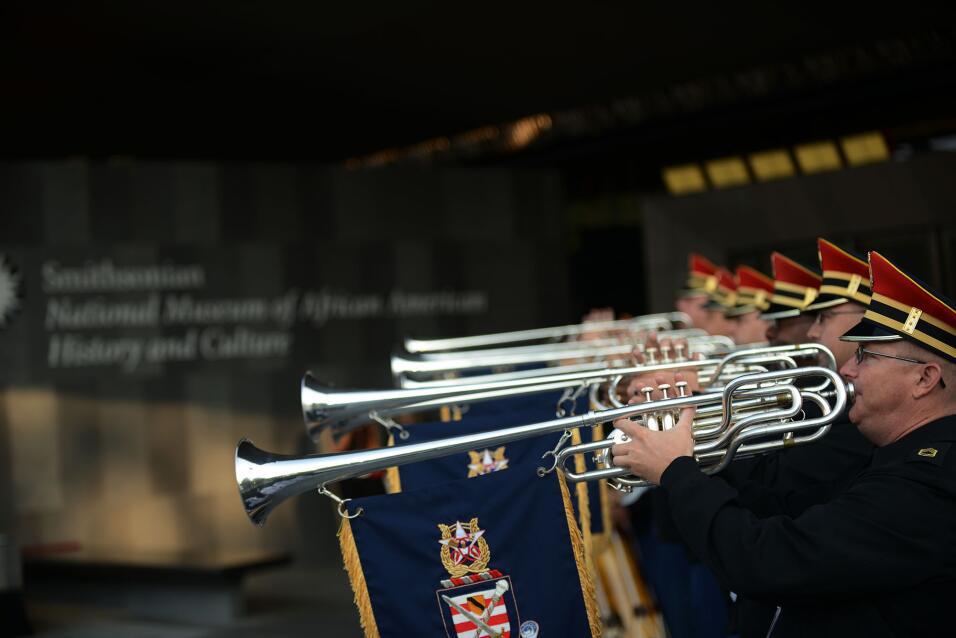 La música acompañó la inauguración.