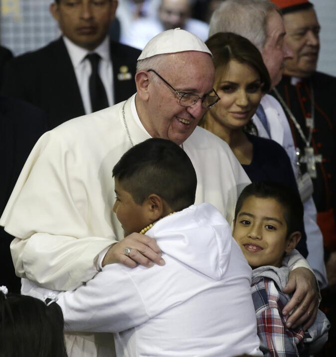 El Papa visita Hospital Infantil