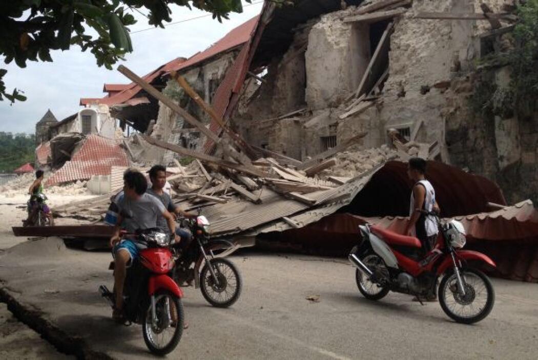 El terremoto también ocurrió a más profundidad que el de magnitud 6.9 de...