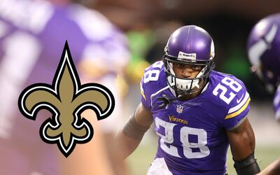 New Orleans Saints, ¿próximo destino de Adrian Peterson?
