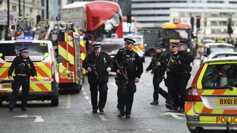 Atentado en Londres aumenta las alertas y el temor por ataques terrorist...