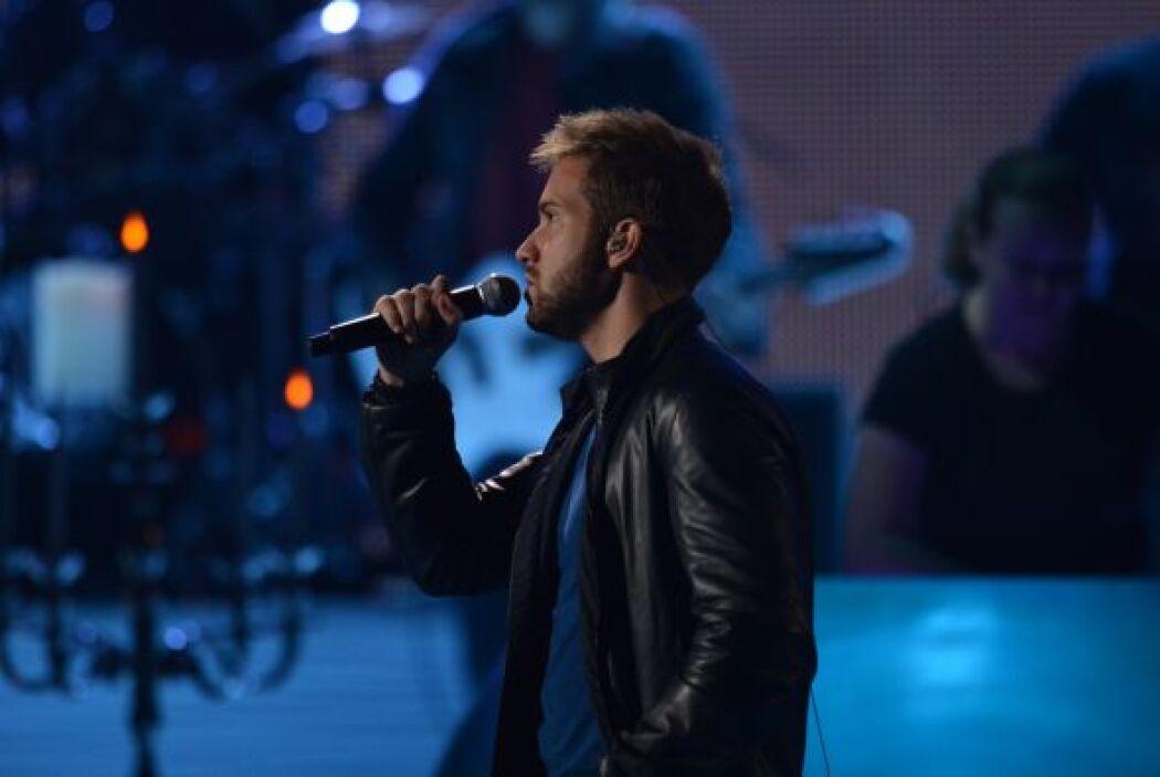Pablo también se está preparando para cantar en el homenaje a Miguel Bos...
