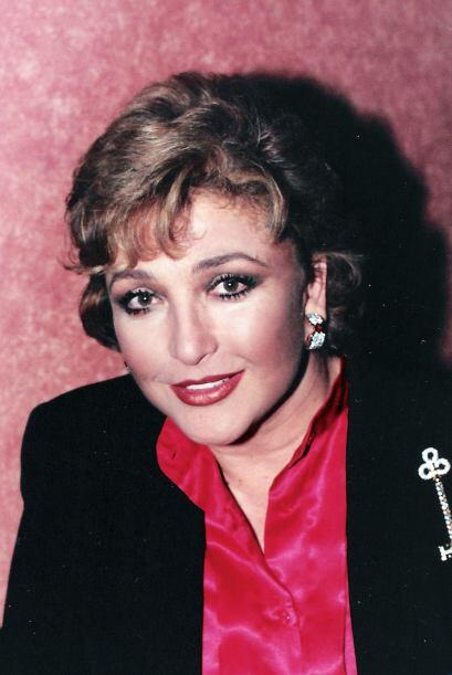 """Angélica María en 1996, cuando actuaba en la telenovela """"Bendita Mentira""""."""