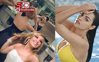 SYP Al Instante: Thalía se saca fotos en los baños y Maite Perroni muest...