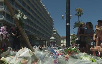 Houston muestra su solidaridad con las víctimas de Niza