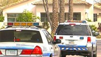 Policia de Scottsdale en el lugar del incidente