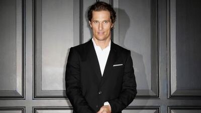 El actor Matthew McConaughey se sorprendió al comprobar que era más difí...