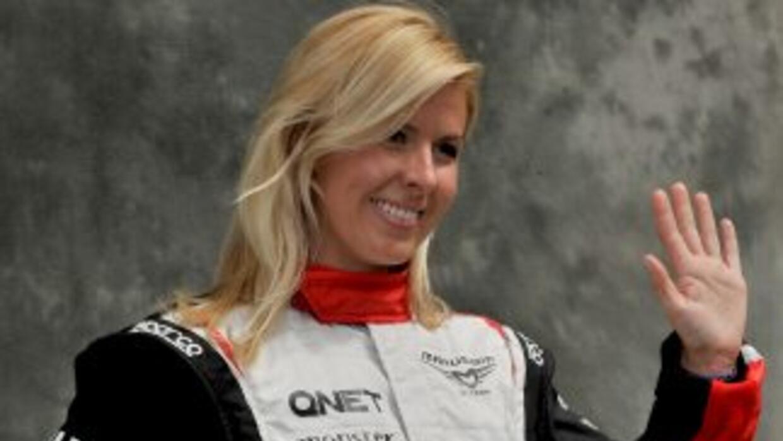 La expiloto María de Villota fue la primera española en correr fórmula 1.