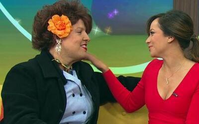 Doña Meche le dio consejos de maternidad a Satcha Pretto