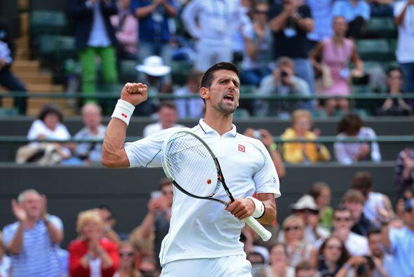 Novak Djokovic sigue su paso en Wimbledon al derrotar al alemán F...