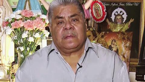 Don Catalino, el abuelito que está en riesgo de deportación, platicó con...