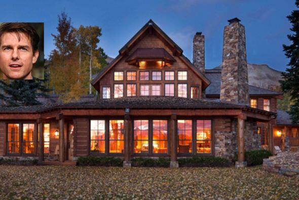 El actor Tom Cruise cuenta con una mansión en Colorado, la cual d...