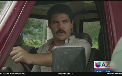 Mira este detrás de cámaras con los protagonistas de la serie de El Chapo