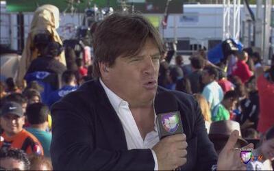 Miguel Herrera habló con Univision Deportes en el Fiestón de la Liga MX