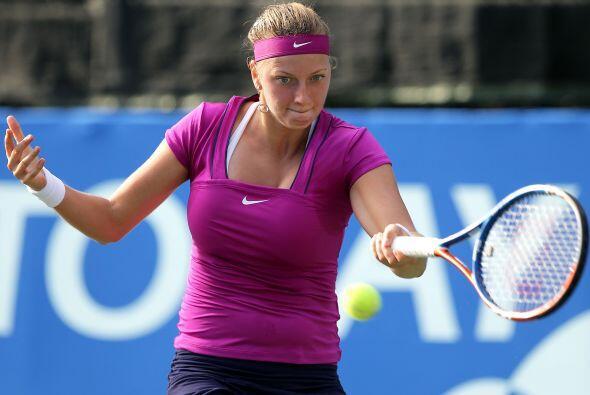 Kvitova necesitó de dos episodios para acceder a la siguiente ronda del...