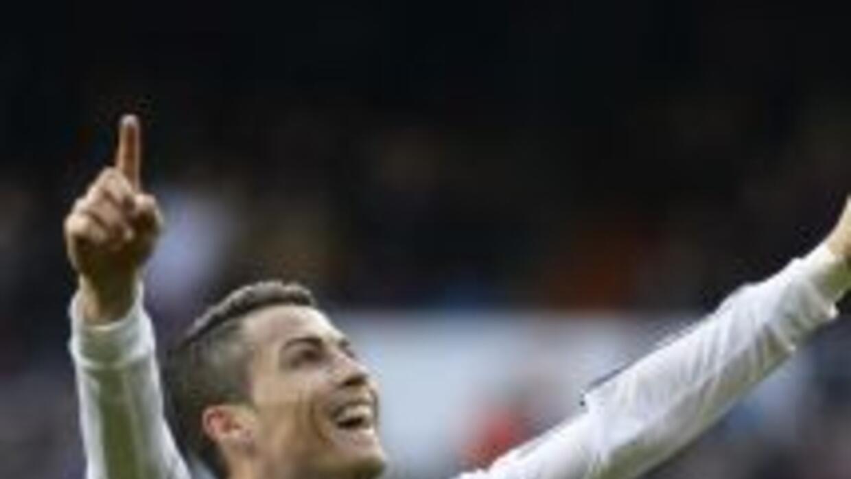 Cristiano Ronaldo marcó uno de los goles del Madrid contra Granada.