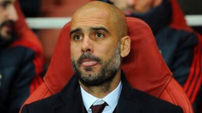 Pep asegura que el trofeo de la liga alemana es el primer objetivo en el...