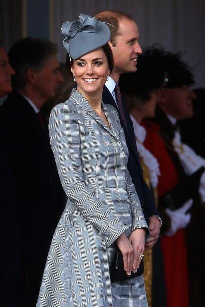 Una vez más opacó a su esposo, el príncipe William.