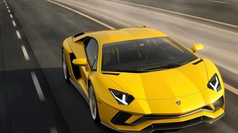 Este es el nuevo Lamborghini Aventador S.