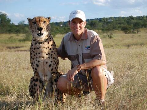 ¿Un guepardo el mejor amigo de un hombre?