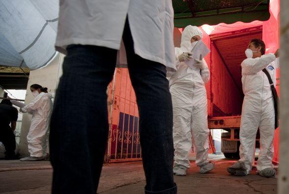 La fiscalía responsabilizó a 'Los Zetas' de ser los responsables de los...