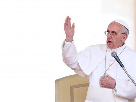 El papa Francisco, que hasta su elección fue arzobispo de Buenos...