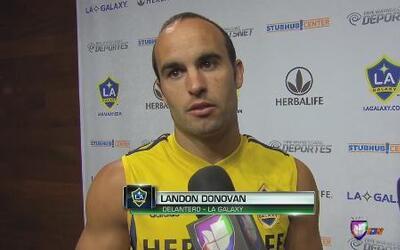 """Landon Donovan: """"Es un orgullo ser parte del Juego de Estrellas"""""""