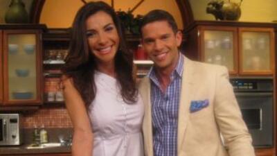 Rodner Figueroa cocina con Maggie