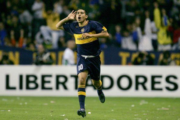 La clase de Juan Román destacó desde sus primeros juegos a...