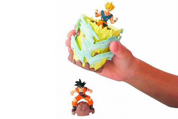Figurines de acción. Si a tu niño le encanta Dragon Ball Z...