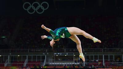 La gimnasta mexicana Alexa Moreno, de 22 años, la única re...