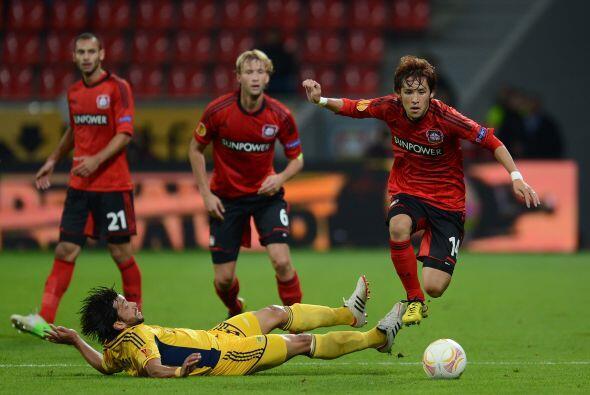 Por último, el Bayer Leverkusen y el Metalist Kharkiv tampoco hicieron g...