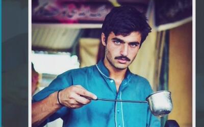 Vendedor de té pakistaní saltó a la fama tras un exitoso cambio de look