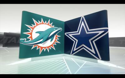 Dolphins 14-41 Cowboys: Dak Prescott fue la estrella en Dallas