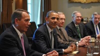 """Obama no ha renunciado a obtener """"el acuerdo de mayor trascendencia posi..."""