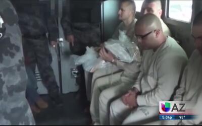 Revelan información de extraditados a AZ