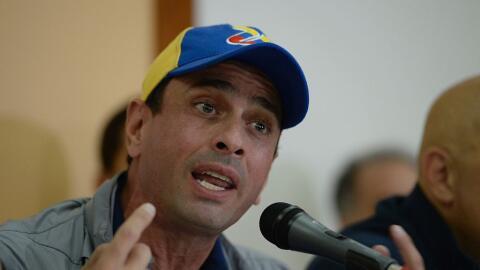 El excandidato presidencial Henrique Capriles llamó a los oposito...