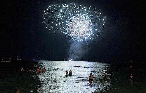 Hawai recibe el Año Nuevo.