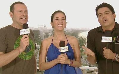 Alan, Maity y Orlando compartieron notas curiosas desde Brasil