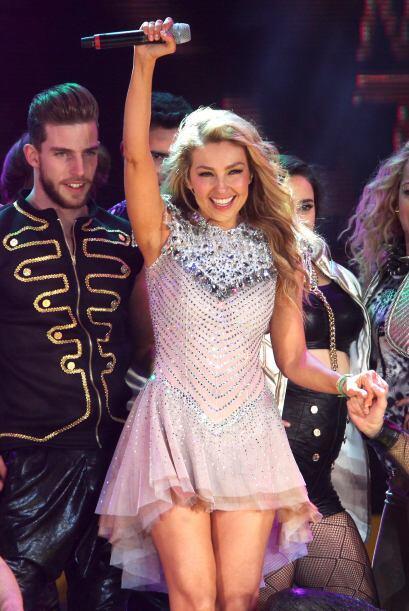 """Thalía fue a tierra azteca a presentar su disco infantil, """"Viva Kids"""" y..."""