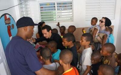 El salsero también tiene un orfanato en República Dominicana.