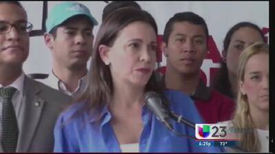 María Corina Machado podría perder su libertad
