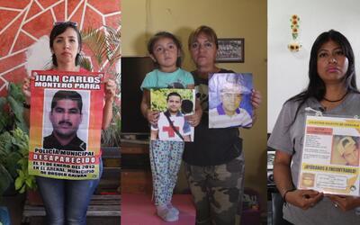 En video: Mujeres reclaman desapariciones forzadas de policías tras hall...
