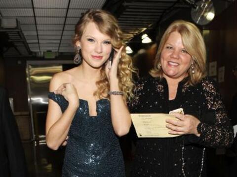 Taylor dijo que como regalo de Navidad, el año pasado pidi&oacute...