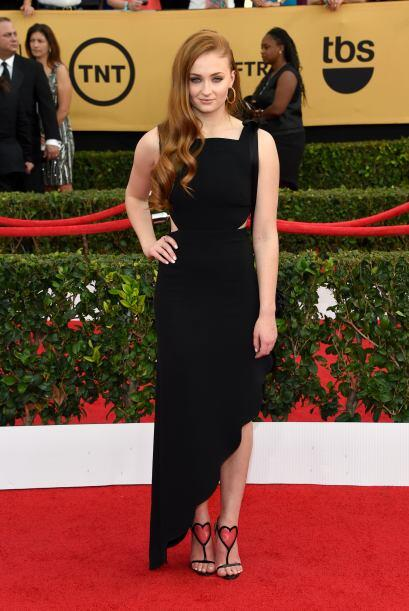 La bella Sansa Stark de 'Game of Thrones', Sophie Turner.