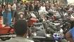 Cientos de motociclistas llegaron a Galveston