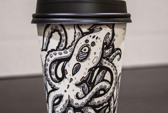 Cada taza que vende proporciona la posibilidad de juntar más dinero para...