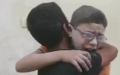 Los niños son las víctimas inocentes de la terrible guerra en Siria