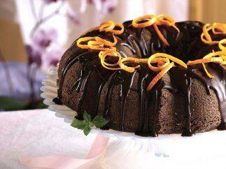 PASTEL DE CHOCOLATE A LA NARANJA - Este pastel es para los amantes de sa...