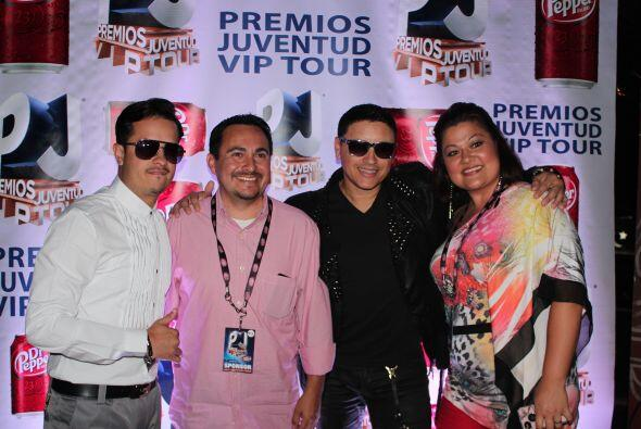 Los fans del PJ VIP Tour en Houston